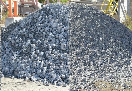 Щебень из дробленого бетона и железобетона