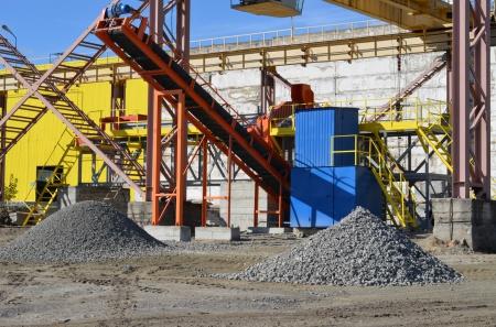 Линия по утилизации ЖБИ на нашем заводе